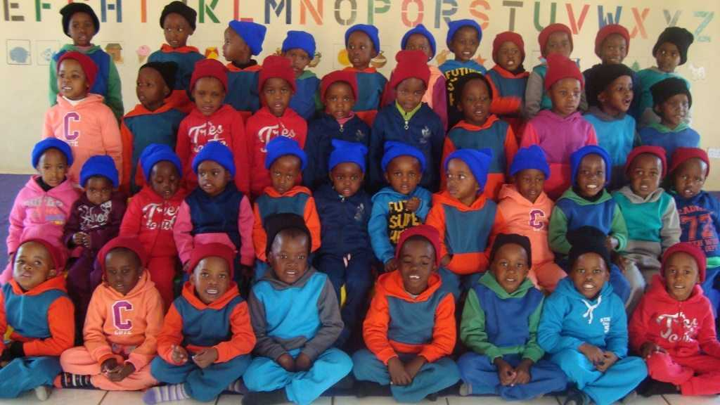 Orphans and vulnerable children at Mmopane Village, Botswana