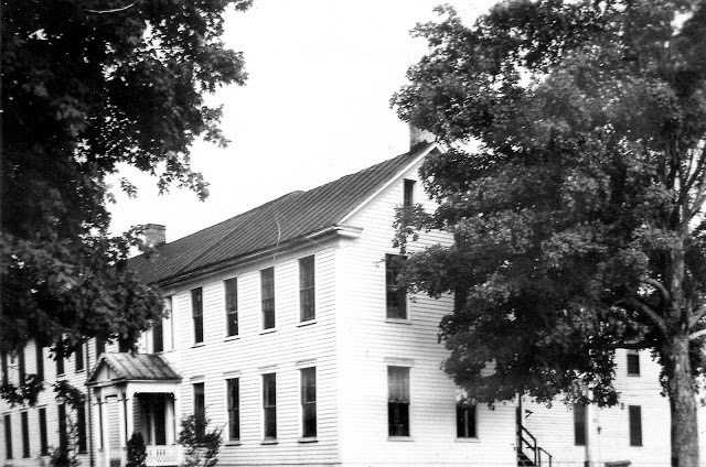 From 1950–1952, I attended St. Theresa Academy for my first and second grade (bottom floor, center of picture). It was torn down the summer of 1952. A newer much smaller school opened in the fall of 1953. The Sisters of Charity continued to teach until the close of the school in 1993.
