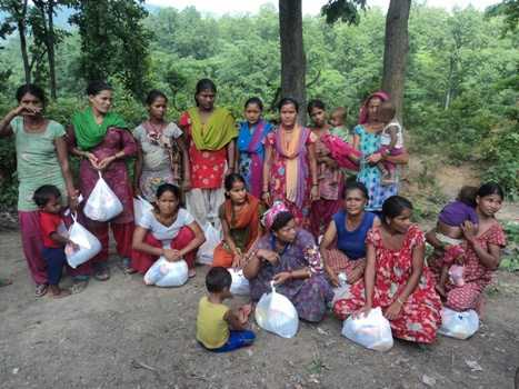 In Nepal, Navjyoti Center continues to support flood affected families