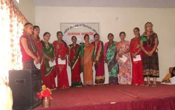 Sisters in Nepal celebrate 24 trainees