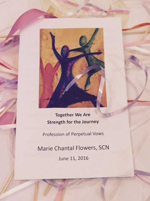 Marie Flowers SCN – Perpetual Vow Mass