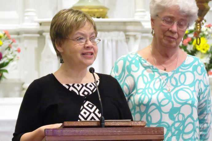 Sister of Charity professes perpetual vows at Nazareth