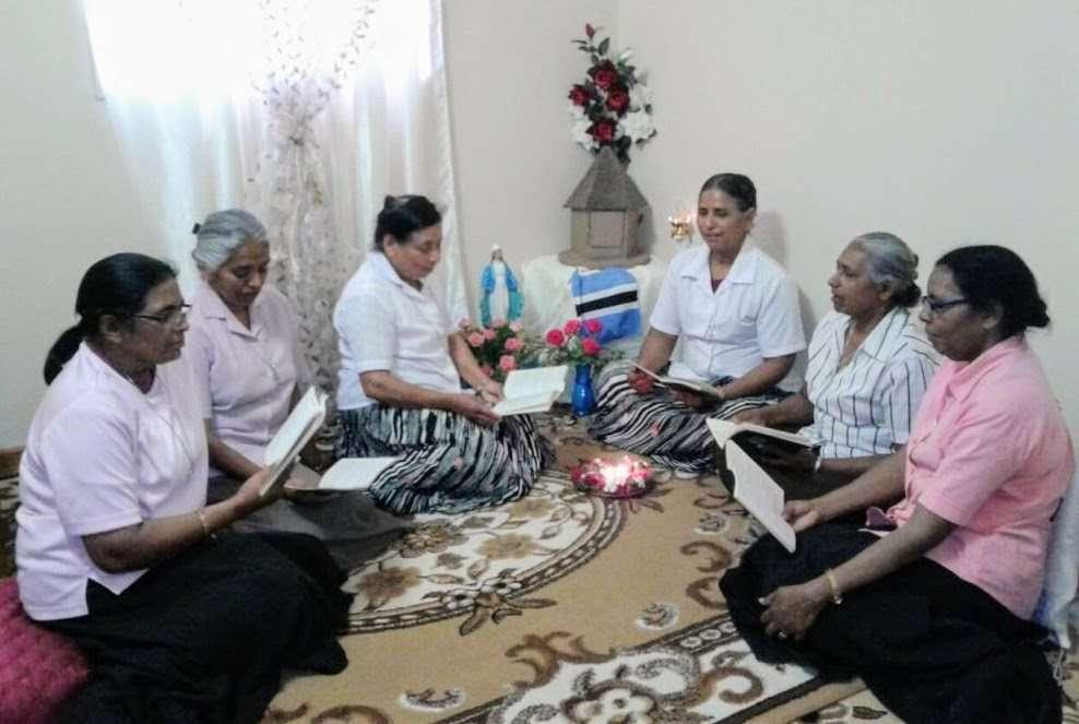 Sisters in Botswana celebrate Foundation Day