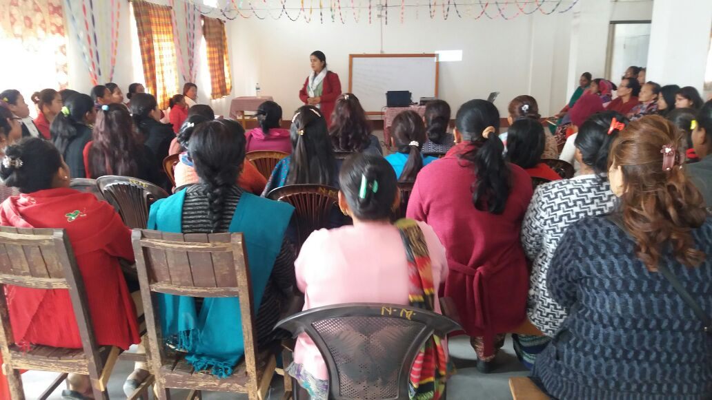 Women of Dharan discusses political participation