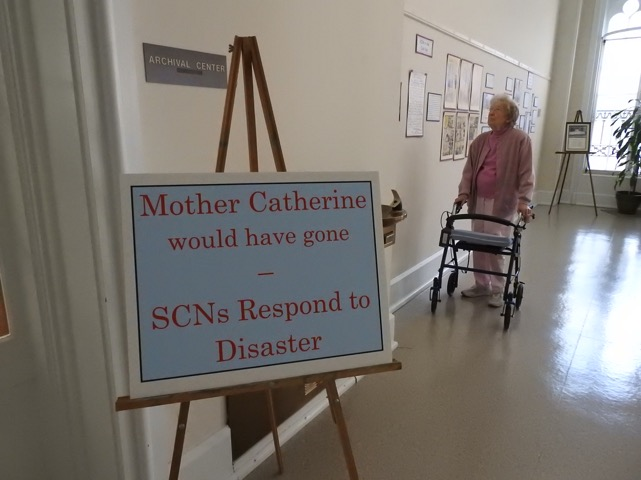 Nazareth Archives hosts Open House – SCN Disaster Response