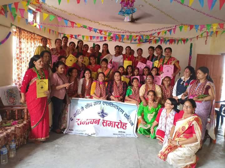 The underserved receive training in Nepal