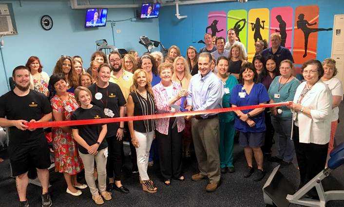 VCS opens employee fitness center