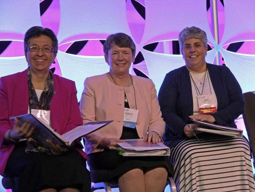 Sr. Teresa Maya challenges LCWR assembly to go forth amid changing times