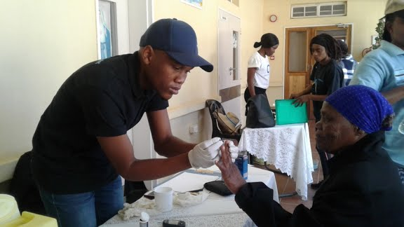 Sisters host wellness day for village in Botswana