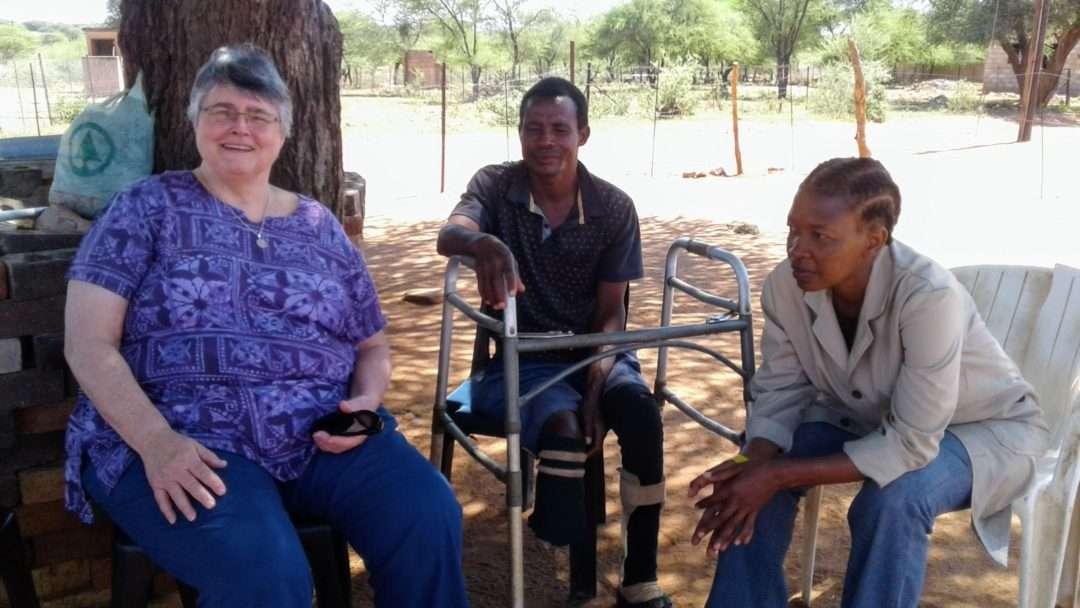 Sister Adeline visits Botswana