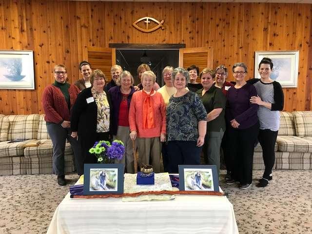 Lenten retreat at Camp Maria