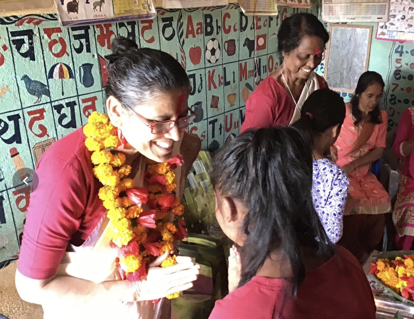 Sister Jacky visits Nepal missions