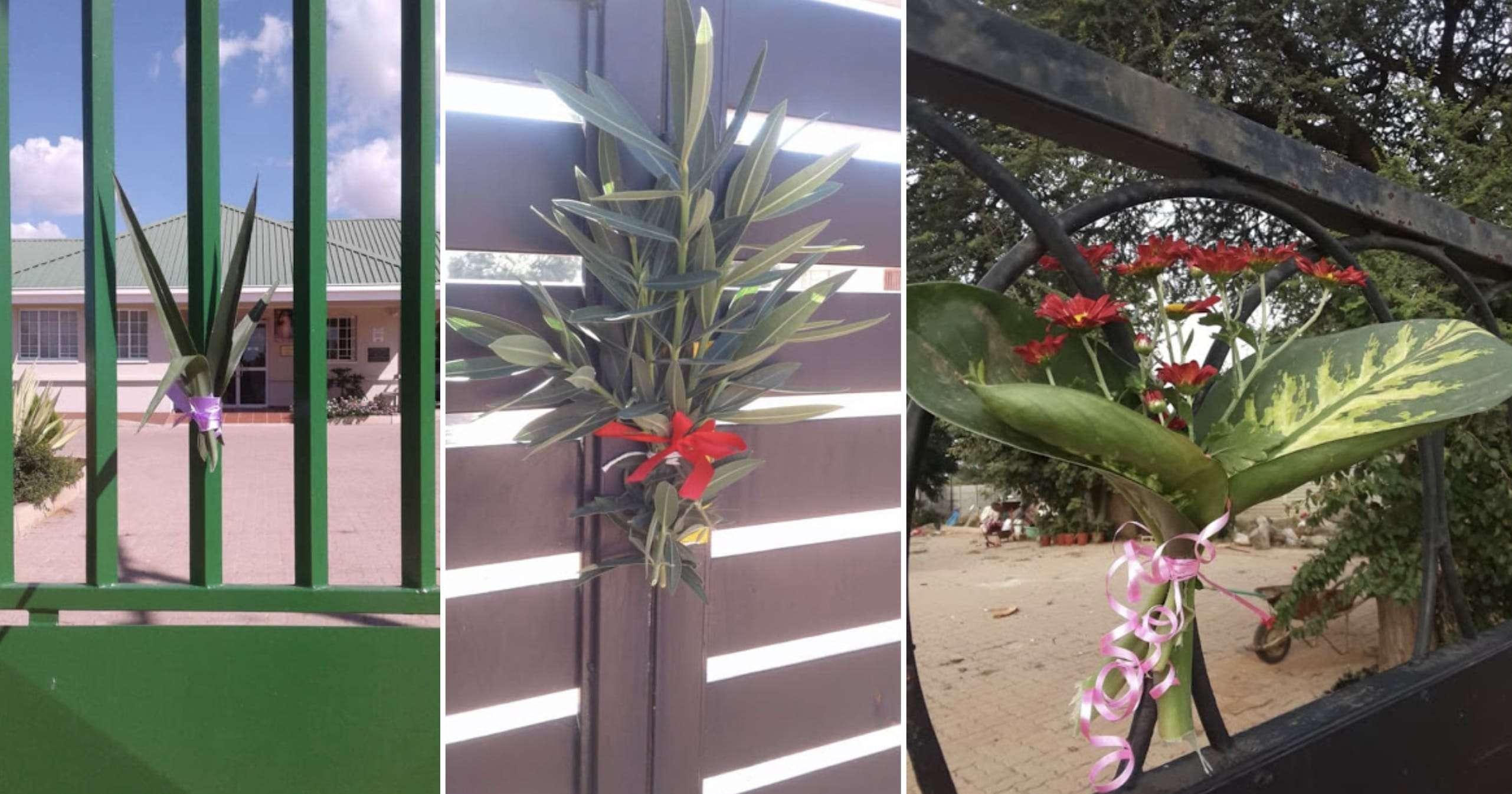 Palm Sunday in Botswana