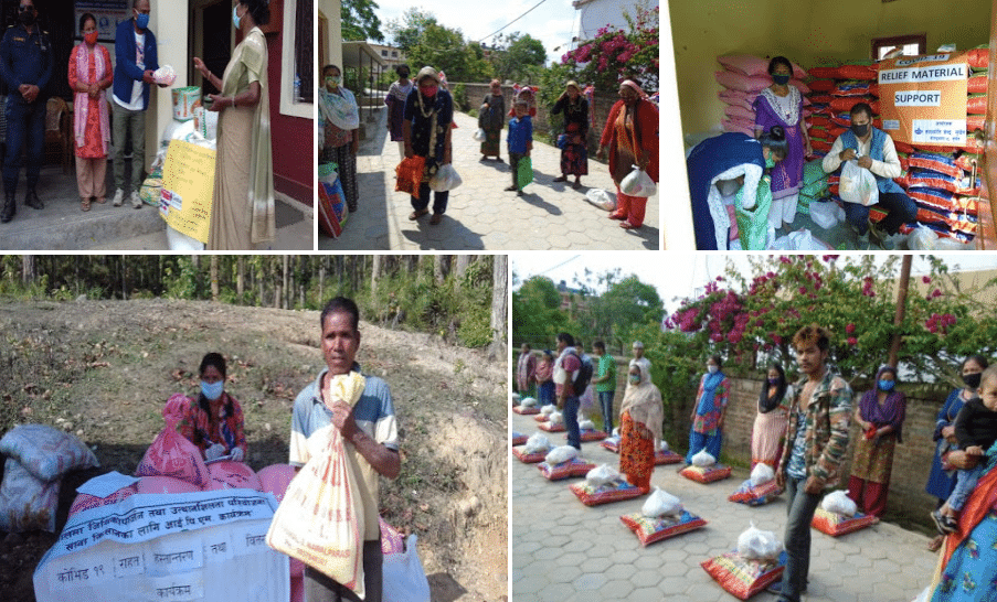 Relief work in Surkhet