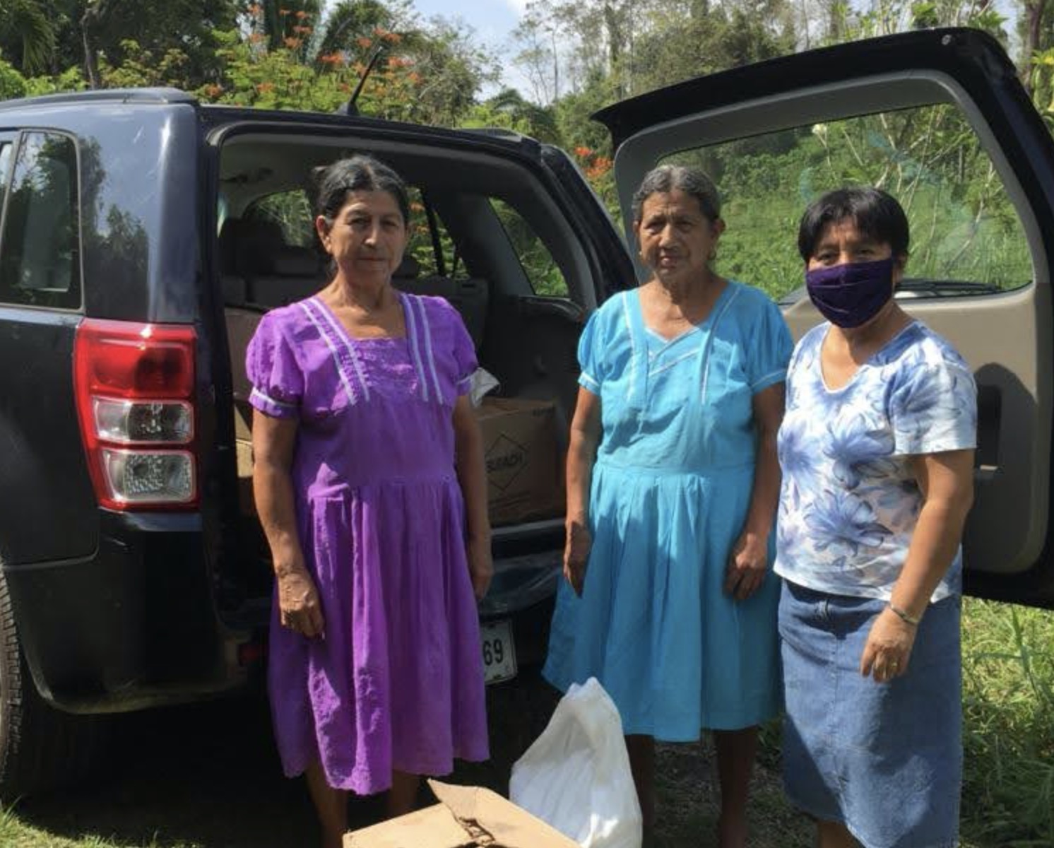 Pastoral support in southern Belize