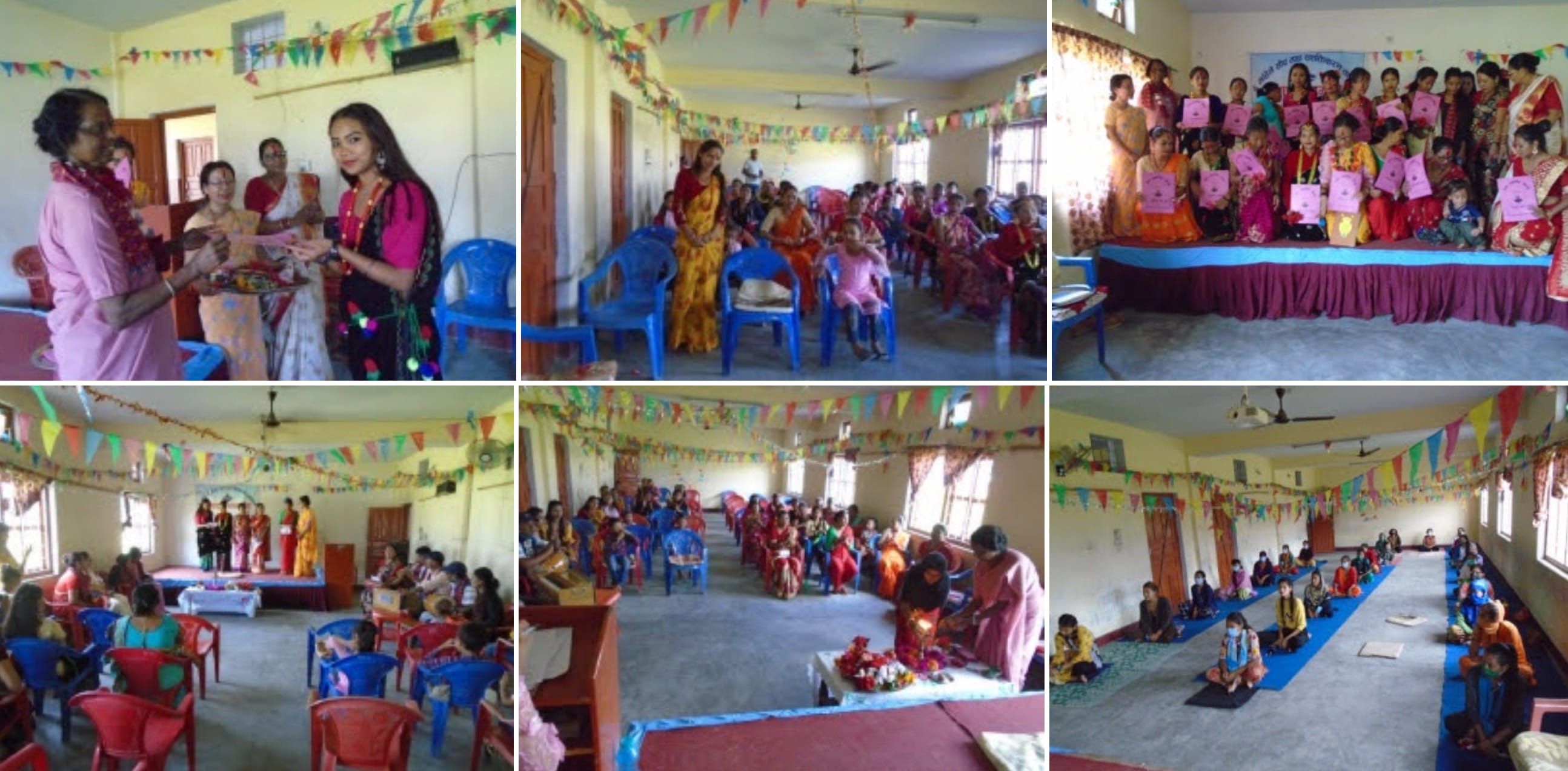 Certificate Distribution in Navjyoti Center Surkhet