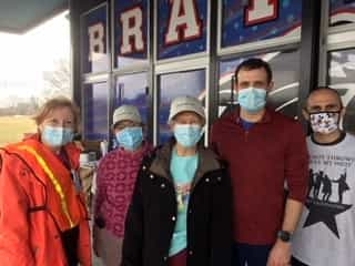 SCN Family helps with Vaccination Fair