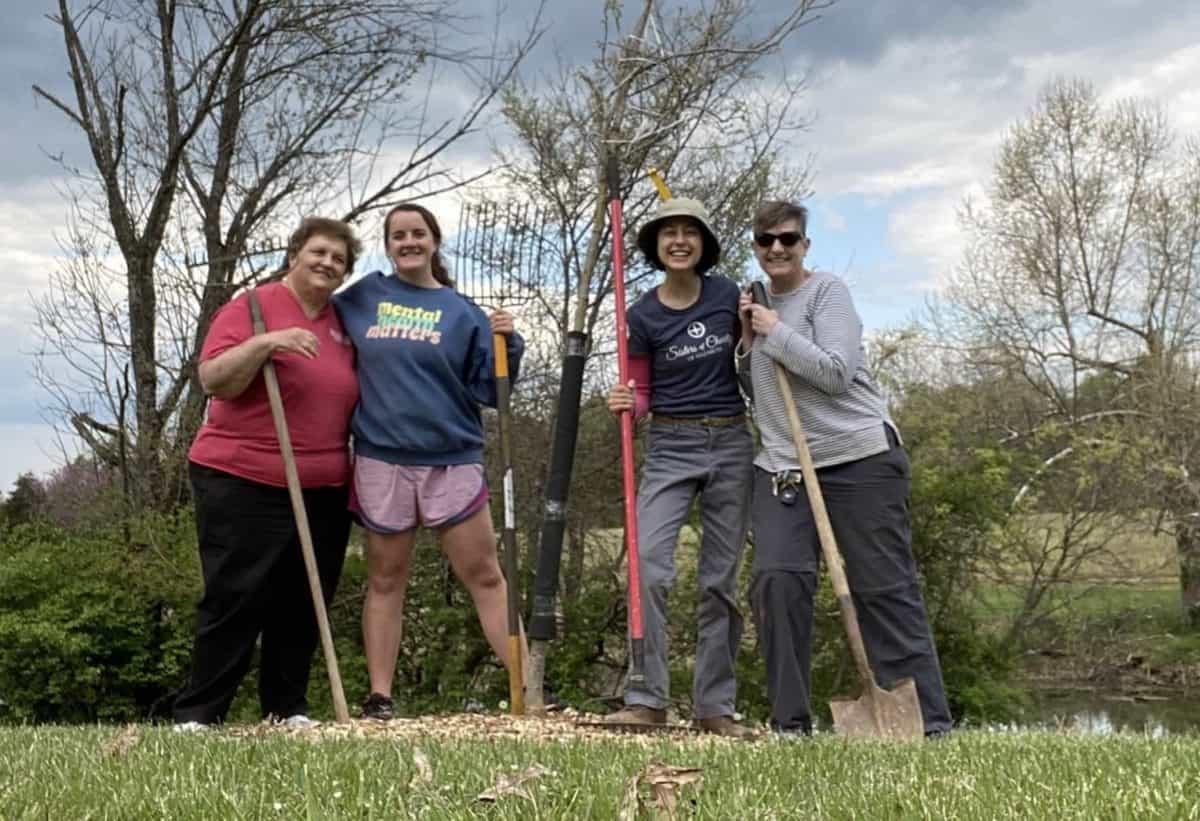 Charity Alive dedicate trees to Nazareth