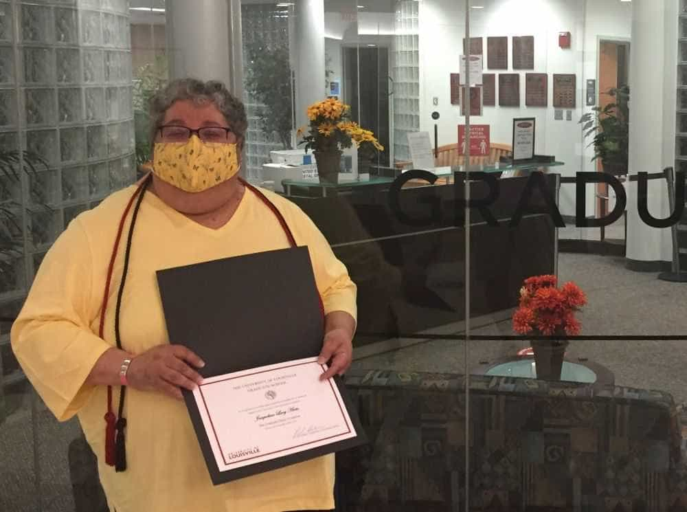Sister Jackie receives two awards
