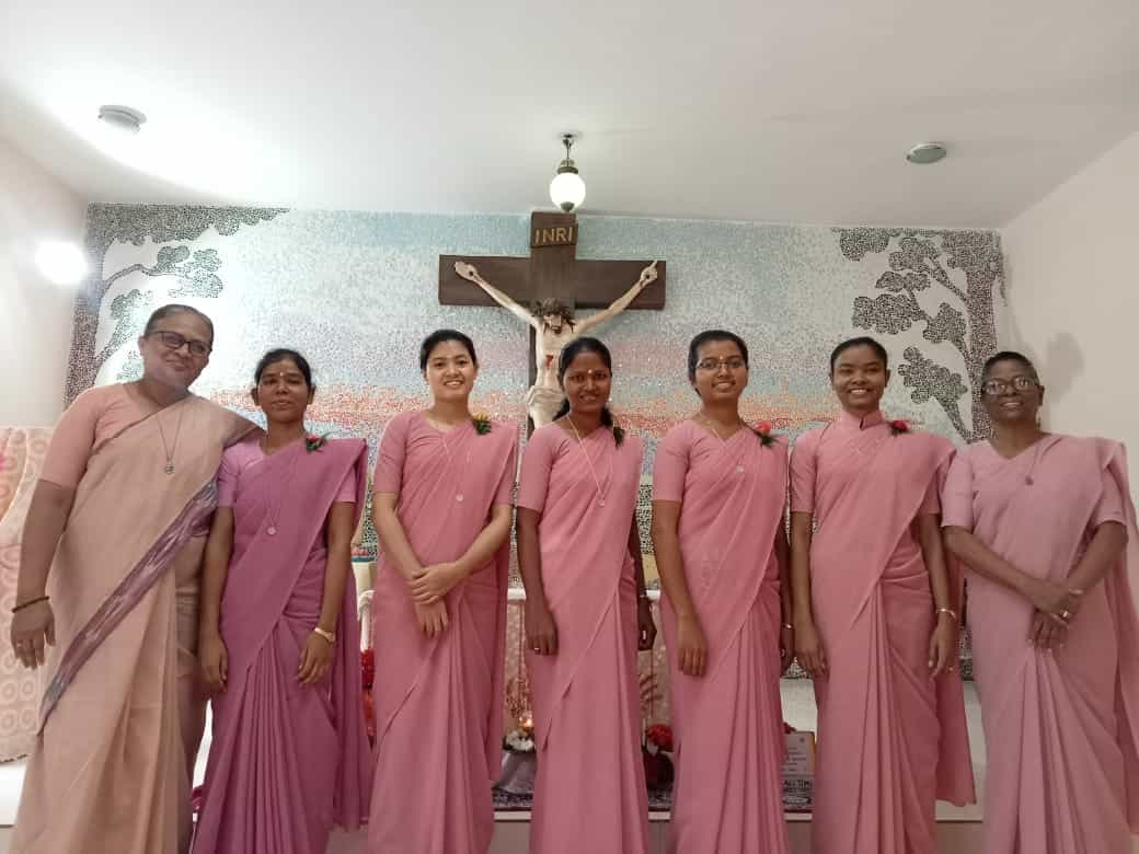 Sisters renew vows