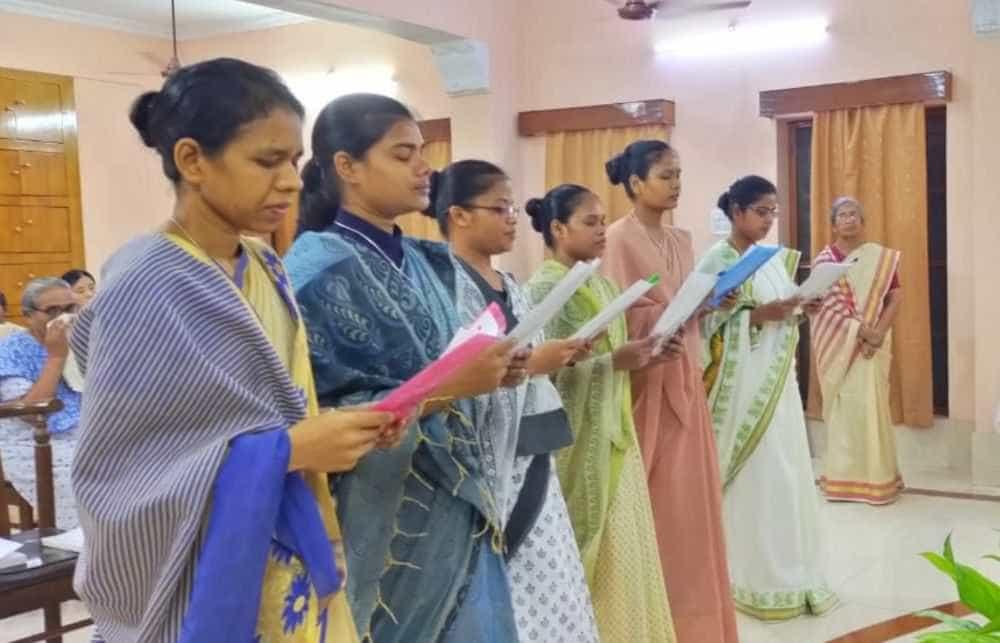 Renewal of vows in Patna and Sangsay
