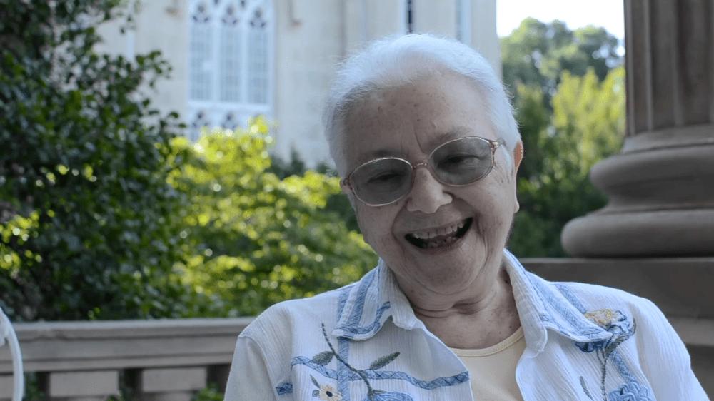 Sister Paschal teaches Spanish