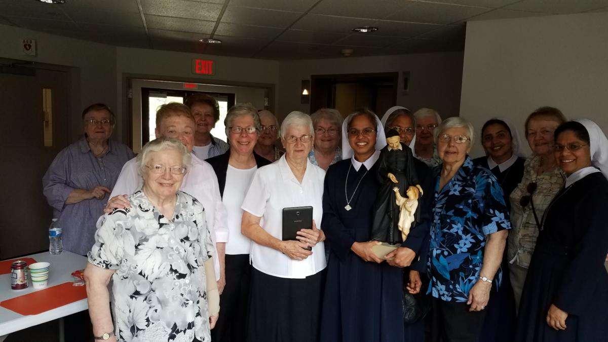 Picnic celebration at Caritas