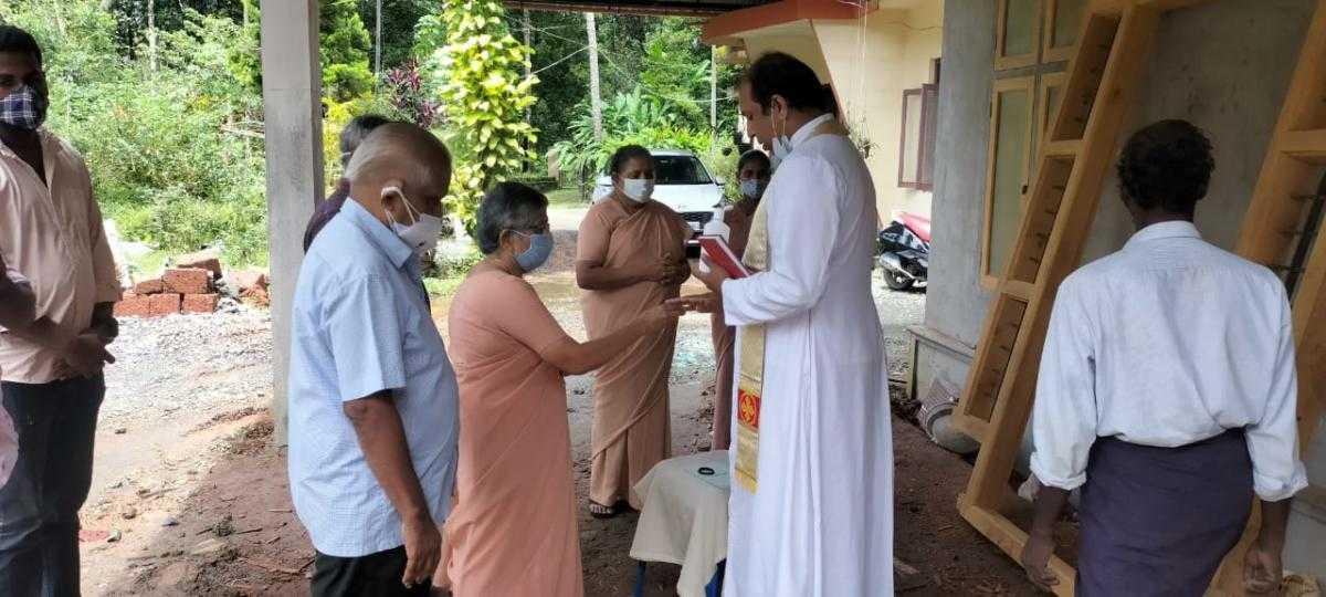 Blessing Ceremony in Kallanode