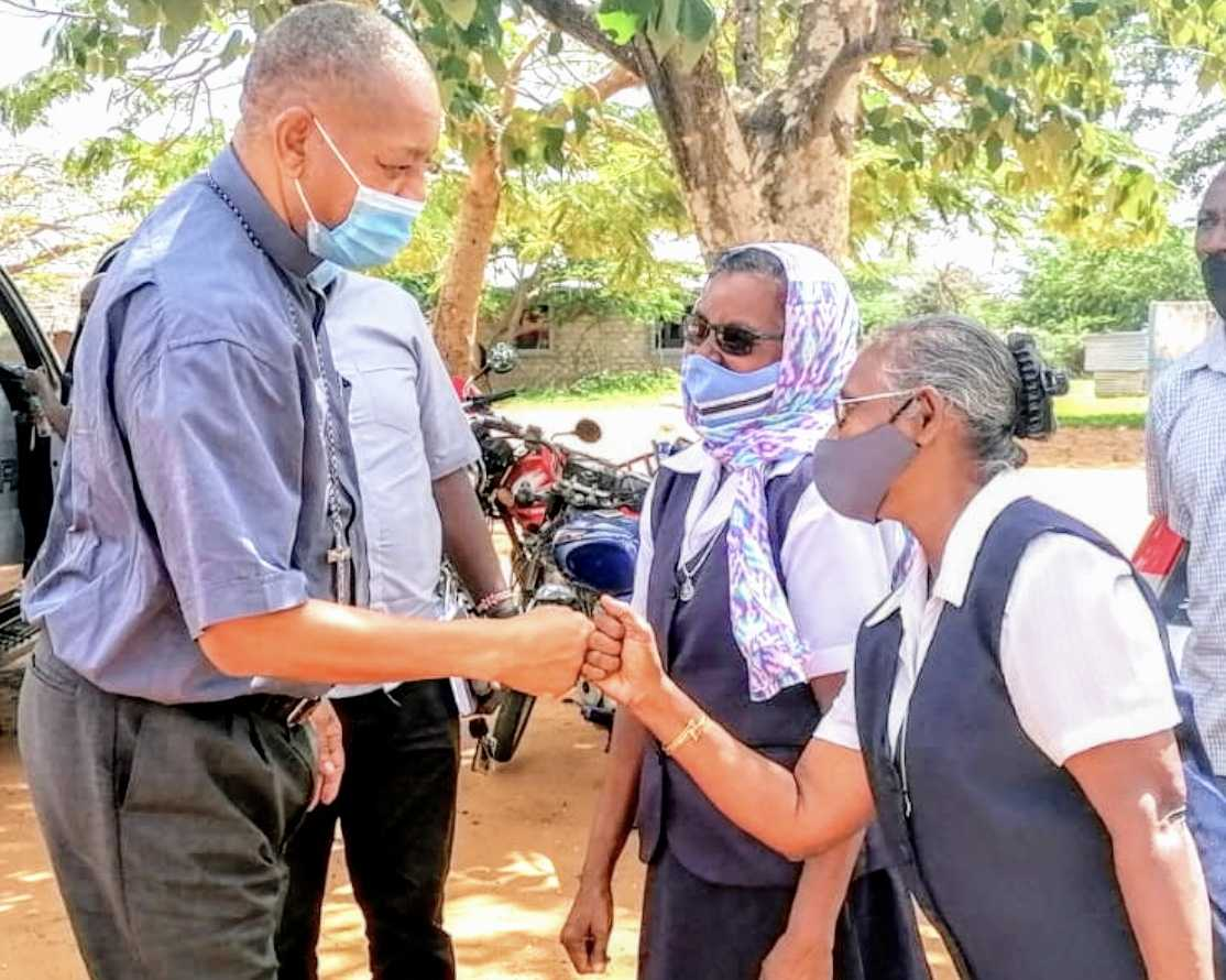 Visit from Bishop Lagho in Kenya