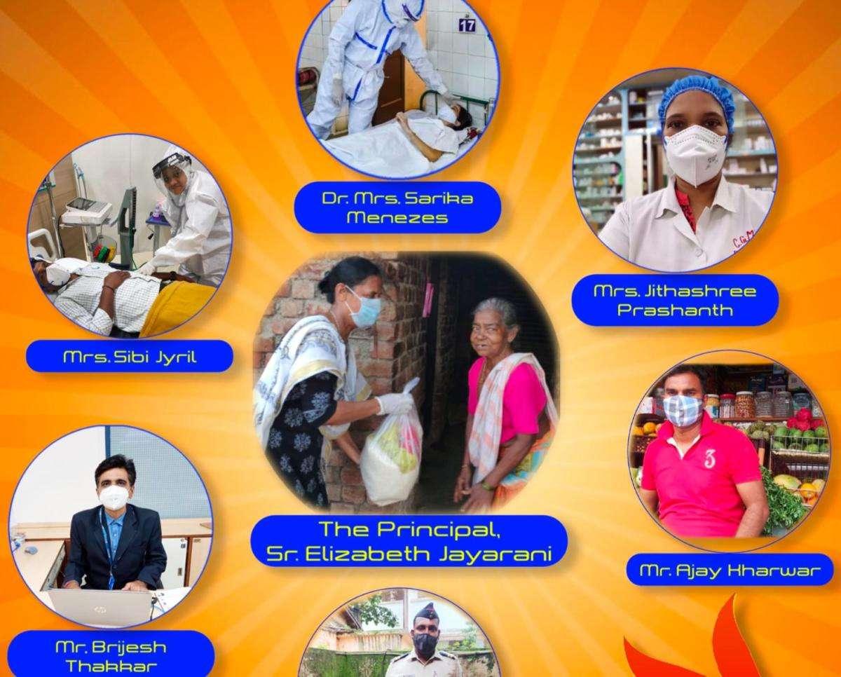 Vasai school magazine released